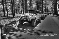 The money Line. (jack.dailey62) Tags: blackandwhite canon outdoors jeep 4x4 outdoor bigbear