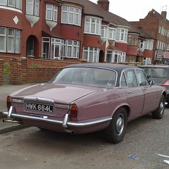 (uk_senator) Tags: pink 1972 daimler sovereign xj
