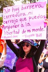 Libertad de Mente. (Yamileth Ruiz Avia) Tags: woman mxico mujer women mexicocity df abril 24 mujeres marcha feminists feministas 2016 24a ciudaddemxico feminista marchafeminista vivasnosqueremos