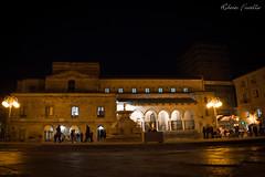 Piazza Garibaldi By Night (Roberto Fiscella) Tags: nikon chiesa sicily luci notte lampioni sicilia nicosia fiscella nicosiaenna d7200 robertofiscella fiscellaroberto