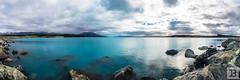 Lake Pukaki (Joel Bramley) Tags: blue newzealand lake nature water landscape aqua panoramic