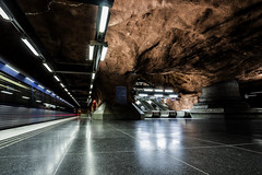 Stockholm (nureco) Tags: city longexposure travel urban beautiful train subway metro sweden stockholm 1635mm a7ii sonyalpha sonyimages nureco