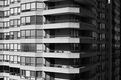 Next Door (II) (L_) Tags: blackandwhite bw monochrome architecture apartments waterloo condo condos apartmentbuilding condominiums