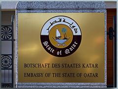 Die Botschaft von Katar - The Embassy of Qatar -  _1 (Peterspixel from Peter Althoff) Tags: berlin embassy qatar botschaft katar   theembassyofqatar