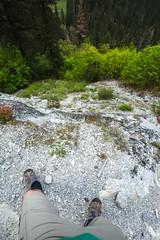 Don't slip (JarrodLopiccolo) Tags: california trees feet spring yosemite yosemitenationalpark yosemitenation