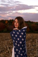 The New Americana (KatieeRileyy) Tags: america model flag teenagers teens americanflag patriotic american fourthofjuly americana july4th independence 4thofjuly independenceday julyfourth