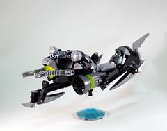 Lesovikk's Sea Sled - Flight (0nuku) Tags: green underwater lego air submarine master vehicle g2 glider bionicle toa 2015 faxon uniter ccbs mahrinui lesovikk karzahni ussanui