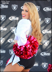 2015 Oakland Raiderette Noelle @ Raiderville (billypoonphotos) Tags: pink light woman black girl lady silver oakland photo dance football team nikon pretty breast cheerleaders nfl go nation cancer picture dancer denver coliseum bud females cheerleading squad fabulous awareness noelle broncos raiders raider 2015 raiderette raiderettes raidernation oco bcam d5200 raiderville billypoon billypoonphotos