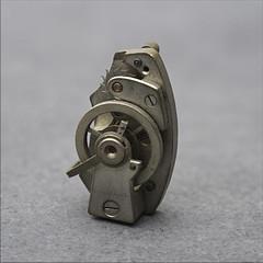 Time Mechanism... (Hans Kool) Tags: clock spring time watch veer part repair horloge anker klok watchmaker inheritance tijd reparatie erfenis onderdeel