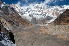 Moraine (Pooja Pant) Tags: nepal mountains beautiful trek abc annapurna annapurnabasecamp macchapuchre