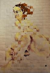 10 - 49me Salon des Arts dAlfortville Cendrine Portes, Sans titre, Technique mixte (melina1965) Tags: nikon ledefrance january janvier valdemarne 2016 alfortville d80
