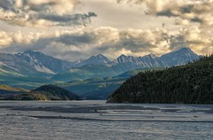 Copper River (Philip Kuntz) Tags: sunset alaska evening dusk salmon chugachmountains copperriver chitina copperriversalmon ahtnariver