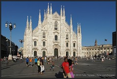 2010-07-18 Milano - Duomo di Milano - 45 (Topaas) Tags: italy milano milaan duomo italië duomodimilano piazzadelduomo a550 sonya550 sonydslra550