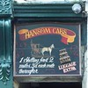 Hansom Cab prices. A shilling for the first two miles and 3d each mile thereafter. (Martellotower) Tags: one cafe cab luggage whitby extra shilling prices hansom sherlocks