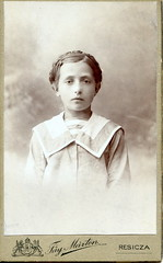 Girl portrait by Fy (elinor04 thanks for 22,000,000+ views!) Tags: portrait girl vintage photo hungary cdv cartedevisite 1900s fy fymrton resicza