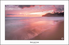 Reflecting (John_Armytage) Tags: seascape beach sunrise dawn focus sony pastels northernbeaches warriewood sonyalpha warriewoodbeach sony1635 sonyaustralia johnarmytage sonya7r2