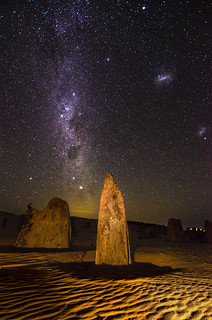 Rigil Kent rising above the Pinnacles, Western Australia