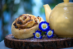 Chelsea Buns (MrPuffy) Tags: food baking chelsea tea buns
