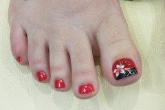 Jamie Baby (Rayray150) Tags: feet face toes tattoos pedicure soles toering