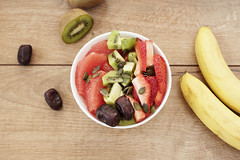 DSC_0247 (sevda.stancheva) Tags: fruits strawberry fineart strawberries bowl bananas health kiwi dates styled photofood woodenbackground digitaldownload instagramimage bloggingstockphotographykitchendecorfruits