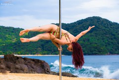 Pole Beach 2016 (rudolphlomax) Tags: brazil art praia beach model glamour perfect janeiro shot north january pole redhead sp bikini shore fotos shooting rudolph paulo fotografia fitness gaia litoral so lomax masterpiece ruiva norte