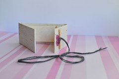 Handmade Book, bound by me (FreckledPast) Tags: book handmade bookbinding
