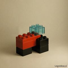 Lego Duplo tractor (lego_ideas) Tags: tractor idea lego farm creation easy minimalism simple duplo miniscale
