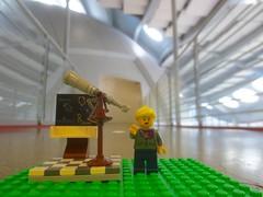 astrophysicist at planetarium (rikomatic) Tags: california museum stem legos minifigs chemist paleontologist astrophysicist womeninscience