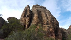 Massive monolith in Pinnacles NP