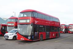 GAL LT680 - LTZ1680 - NSF - BV BELVEDERE BUS GARAGE - WED 13TH JAN 2016 (Bexleybus) Tags: new bus london ahead garage go route boris belvedere routemaster bv 68 etb tfl goahead wrightbus nbfl borismaster lt680 ltz1680