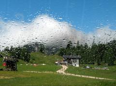 Passo Falzarego (anto_gal) Tags: pioggia montagna 2012 altoadige passo falzarego valbadia trentio