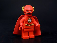 Not the Flash You Normally See (MrKjito) Tags: speed scarlet comics dc cool comic force lego flash super hero cape minifig speedster the