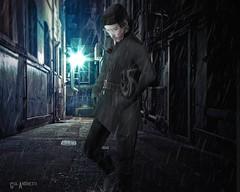 #82.You wont know the rain from the tears in my eyes (Gui Andretti) Tags: life street man men guy love rain fashion dark bade style romance suit second lonely xin elegance kauna davidheather valekoer samuraihq monsieurchic