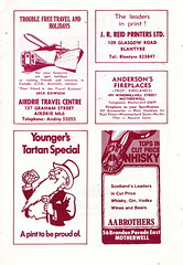 Motherwell vs Airdrieonians - 1979 - Page 5 (The Sky Strikers) Tags: park football scottish first lucky fir guide division league motherwell programme airdrie airdrieonians