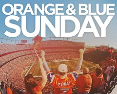 Orange & Blue Sunday tomorrow! Come dressed in your Broncos attire in the morning  (fellowshipgj) Tags: church colorado grand junction non fellowship denominational