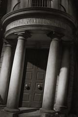 Safe? (Cathy G) Tags: uk bw money canon harrypotter bank secure safe hertfordshire watford goblins institution lseries gringotts canon24105mm canon7d harrypotterstudiotour