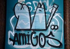 graffiti haarlem (wojofoto) Tags: amigos holland haarlem graffiti nederland netherland hof wolfgangjosten hetlandje wojofoto