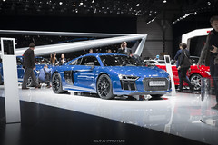 Audi R8 V10 Plus (Alva-photos) Tags: show geneva performance plus motor audi rs supercar v10 sportscar audisport alvaphotos