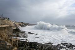 Big Wave (nevnevs) Tags: ocean winter sea storm water landscape coast rocks cornwall outdoor wave shore breakers porthleven
