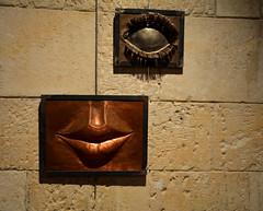 Exposici a la capella de Sant Joan , Vilafranca del Peneds. (Angela Llop) Tags: spain modernart catalonia penedes vilafrancadelpeneds