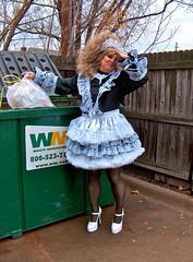 Glamour shot (jensatin4242) Tags: sissy transvestite maid crossdresser petticoat sissymaid jensatin