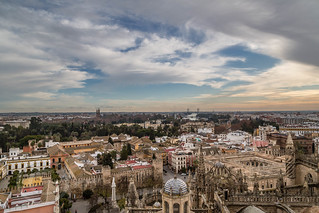 Seville Jan 2016 (5) 650 - The view from La Giralda, the Cathedral tower