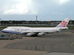 B747-400_China Airlines_AMS (knut_nordlid) Tags: ams ci b744 chinaairlines b747 b747400 boeing747 jumbojet boeing jetliner airplane airliner jet aircraft