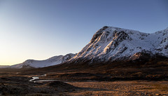 Stob Dearg (Bowz999) Tags: snow mountains sunrise landscape bay scotland glencoe moor rannoch milarrochy