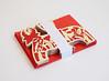 DSCF5038 (Elsita (Elsa Mora)) Tags: christmas paperart card redandwhite papercraft holidaycard papercutout elsita papercutting elsamora