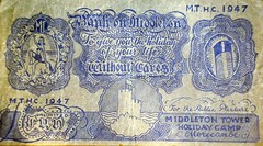 Middleton Tower Holiday Camp - Banknote (trainsandstuff) Tags: vintage holidaycamp middletontower