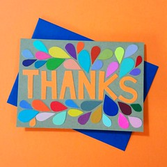 (swirlingthoughts) Tags: thejennuinearticle paperarts cardmaking handmadecard handmade 2016 1456886716948776 thanks gratitude orange blue courtscreen