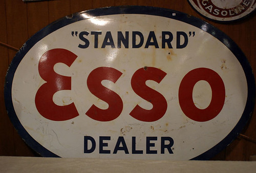 Esso Sign - $935.00 (Sold October 2, 2015)