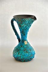CYCLOPE - ECUME de MER (dekker@dekker) Tags: france lava ceramics interior fat decoration vase pottery vaas keramiek cyclope vallauris volcanicglazes
