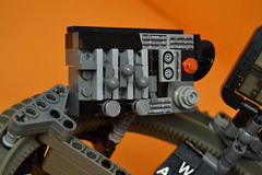 Decibelle_28 (Shadowgear6335) Tags: orange radio robot factory lego good technic hero bionicle mech moc shadowgear6335 bionicle2015